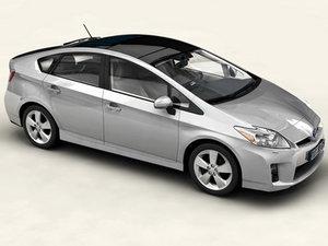 obj toyota prius 2010 car