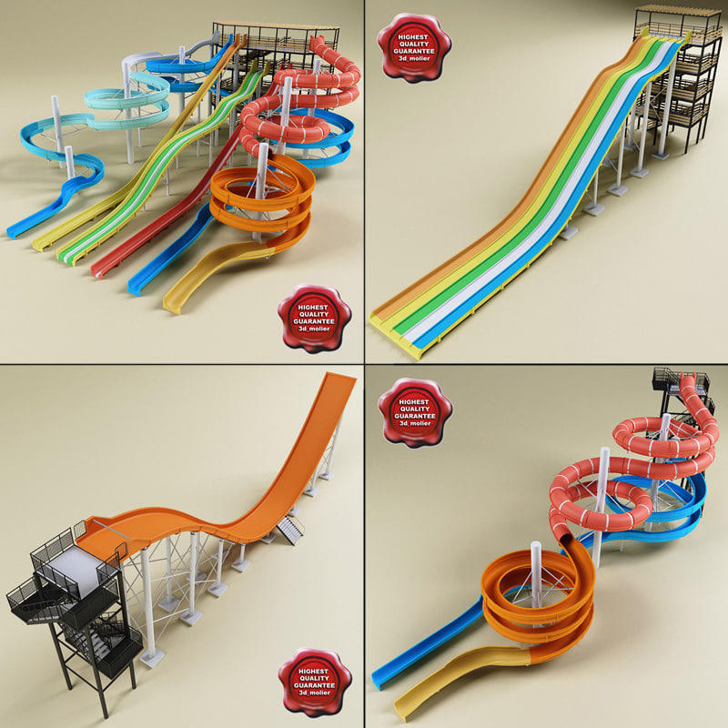 3d water slides v2
