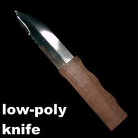 3d obj knife