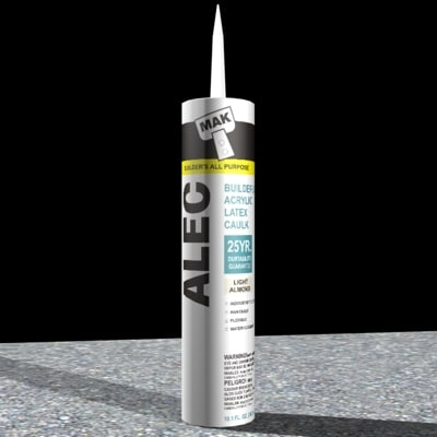 3d model caulk tube