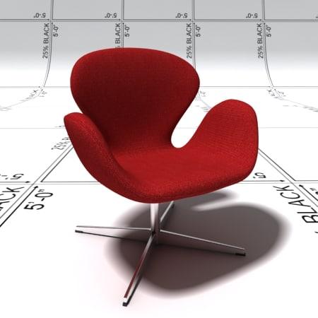 max swan chair