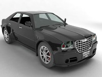 chrysler 300c car 3d model