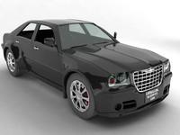 chrysler 300c car 3d model