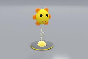 daisy decoration 3d model