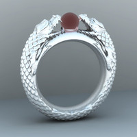 3d dragon ring