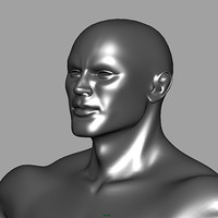 3ds max athletic male