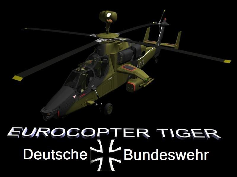 3d tiger uh eurocopter model