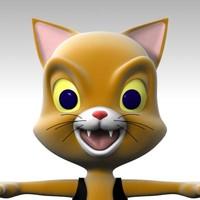 3d kitten cartoon