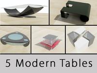 set tables 3d c4d