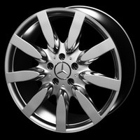 3ds max mercedes-benz wheel rim mercedes s