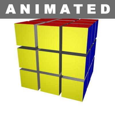 3d max cube