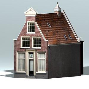 3d 3ds dutch historic house