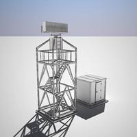 3d max airport radar