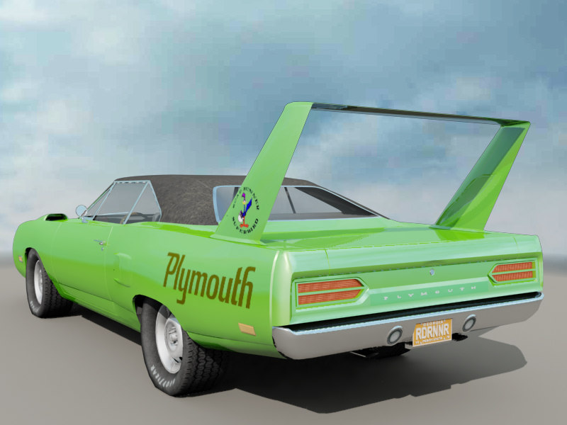 1970 plymouth roadrunner superbird max