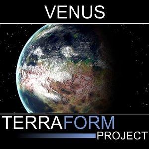 3d venus terraformed