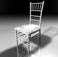 3d reception chair