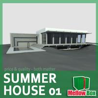 modern summer house 01 max