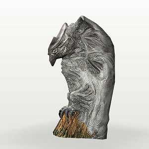 3ds max fort gargoyle