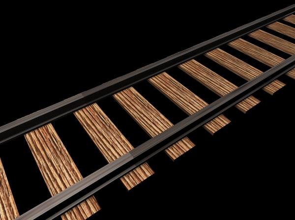 3ds railway track