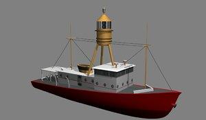 3d light vessels model
