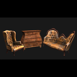 old furniture armchair antique max