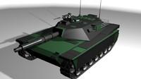 abrams 3d model