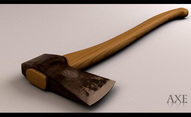 3d model axe