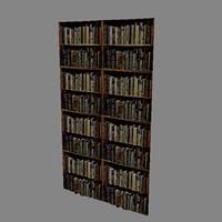 book case 3d model