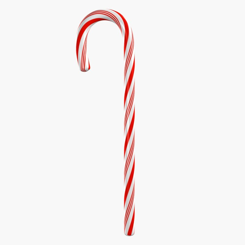 3ds max candy cane