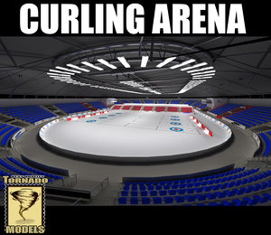 curling arena 3d 3ds