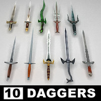 Fantasy daggers collection