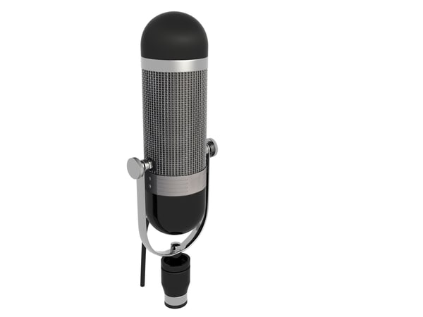 3ds max mic microphone