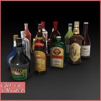 Liquor Bottles Collection