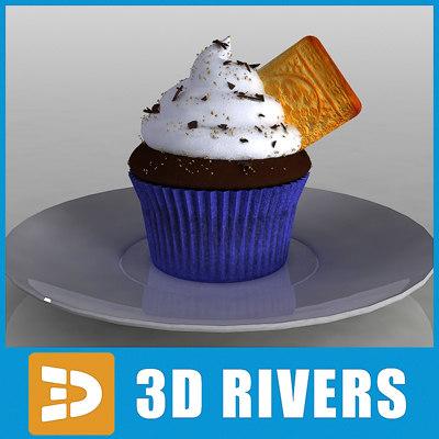 3d cake bake model