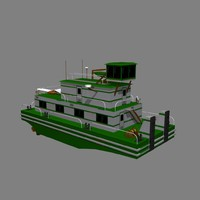 river push boat 3d 3ds
