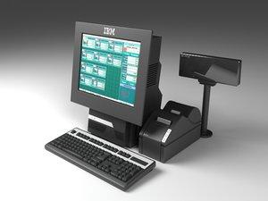 cash device 3d model
