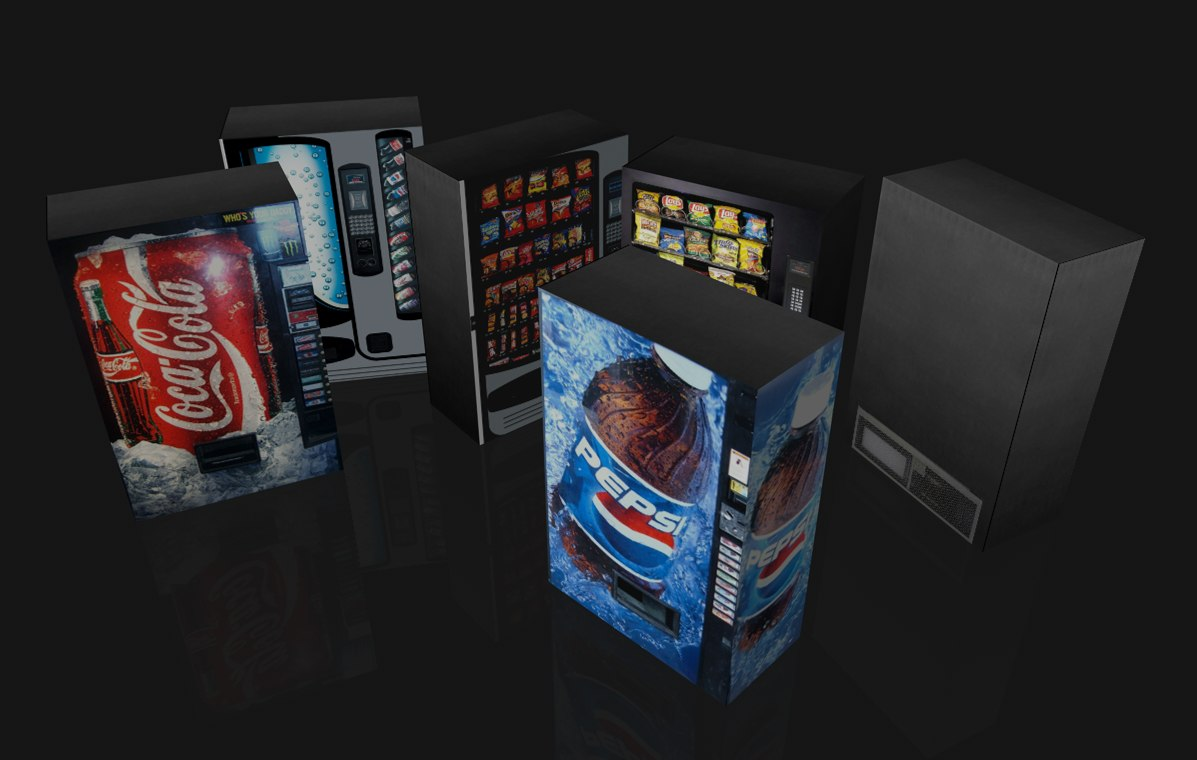 vending machine c4d free