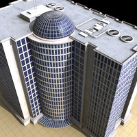 cinema4d building hotel apartment