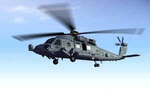 sikorsky hh-60 rescue hawk 3d model