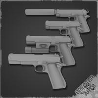 m1911 pistol 3ds