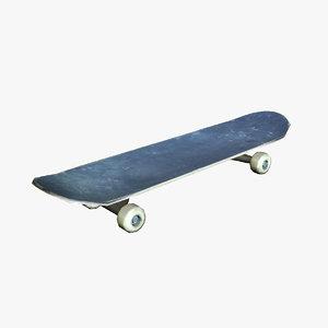 scate scateboard board 3d max