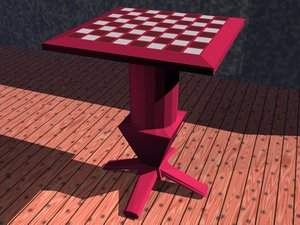 chess table 3ds free