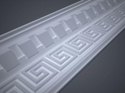 maya decorative lath