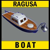 3ds max light boat