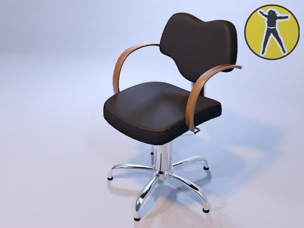 maya chair hair