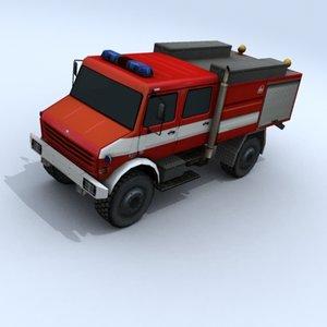 3ds max firetruck vehicles