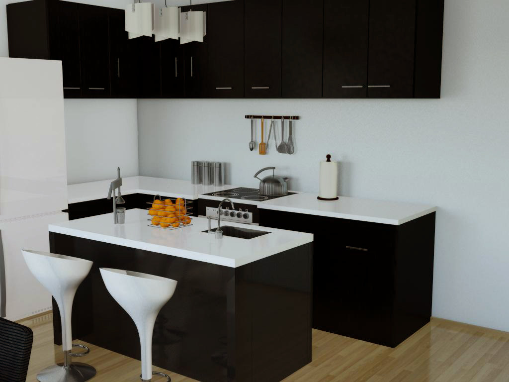 kitchenware kitchen 3d model