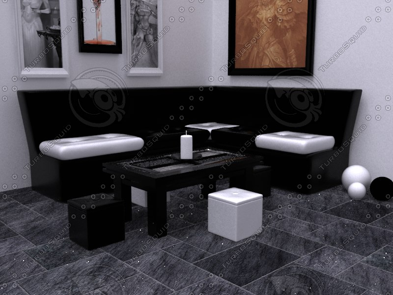 3d furnitures model