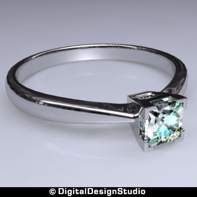 ring diamond 138 3d ma