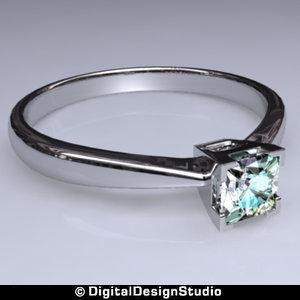 ring diamond 138 3d ma